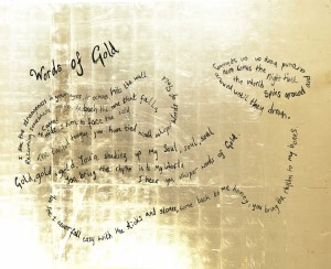 Words Of Gold - Image Rosie Emerson