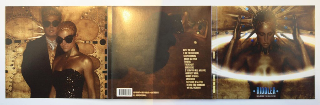 Believe The Machine - CD - Back