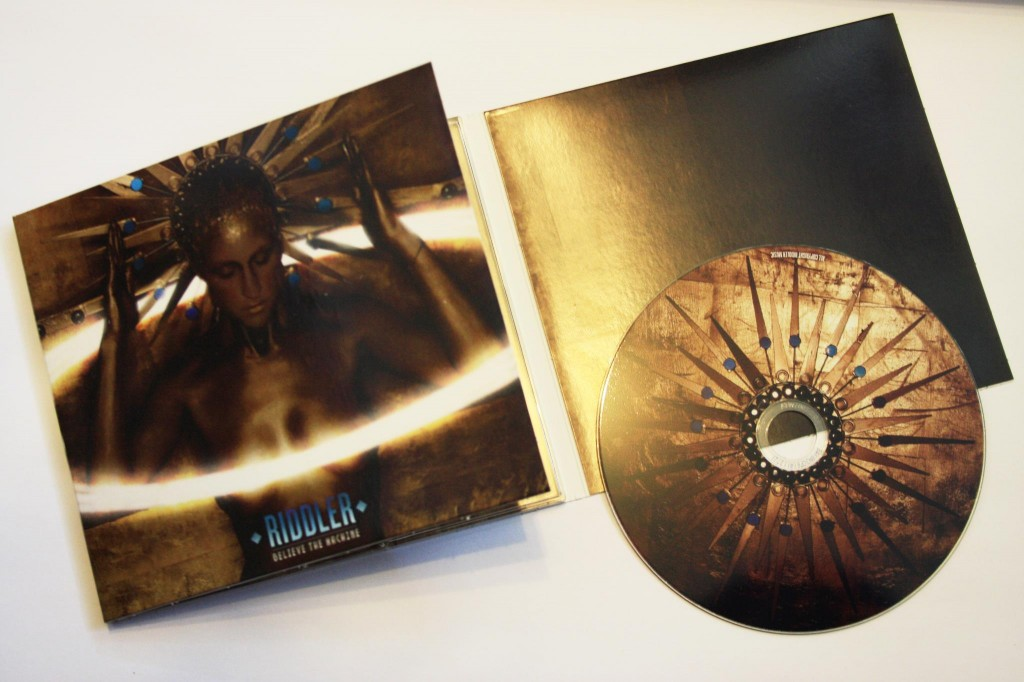 Believe The Machine - CD and Cover